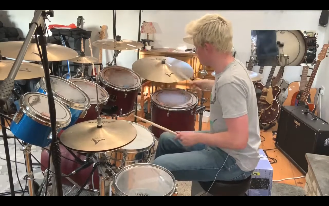 Rush - Tom Sawyer (Drum Cover)